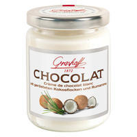 White Chocolate Cream with Coconut and Rum Flavouring, 235g