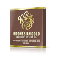 Čokoláda Willie's Indonesian Gold, Javan light breaking hořká 69%, 50g