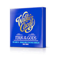 Willie's Cacao milk chocolate MILK OF THE GODS, Rio Caribe 44%, 50g