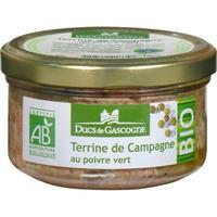 Organic Rustic Terrine with Green Pepper, 130 g