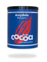 "BECKSCOCOA Drinking Chocolate ""AMYDALA"" with marzipan, 250g can, Fairtrade"