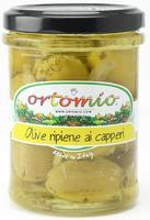 Ortomio Olives Stuffed with Capers Cream, 212ml