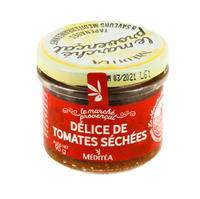 Meditea Dried Tomatoes Spread, glass 90g