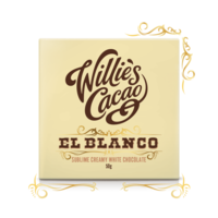 Willie's Cacao white chocolate EL BLANCO Venezuela, 50g