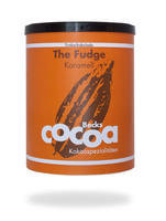 "BECKSCOCOA Drinking Chocolate ""FUDGE"" with caramel, 250g can, Fairtrade"