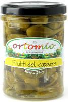 Ortomio Capers in Vinegar, 212 ml
