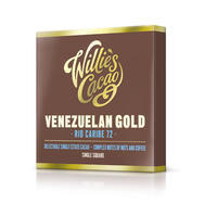 Willie's Cacao chocolate Venezuelan Gold, Rio Caribe, cacao 72%, 50g