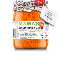Mama's Ajvar Home Made Fire hot Mamas, 550g
