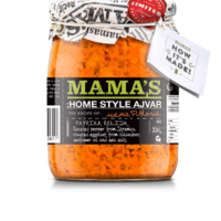 Mamas Ajvar Home Made Mild Mamas, 550g