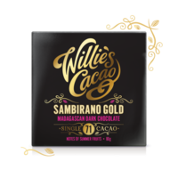 Čokoláda Willie's Madagascan Gold hořká 71%, 50g