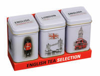 English tea - SELECTION (3 Gift Boxes)