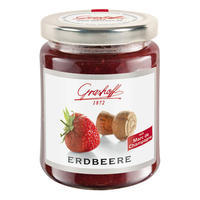 Strawberry Extra Jam with Marc de Champagne, 250g