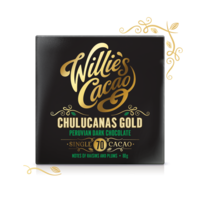 Willie's Cacao chocolate Peruvian Gold Chulucanas, cacao 70%, 50g