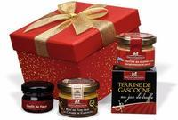 "Gift hamper ""Carré Rouge"""