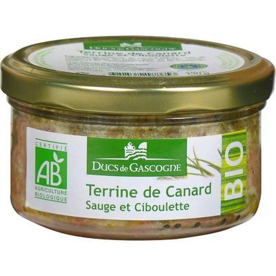 Organic Duck Terrine with Chives and Sage, 130 g