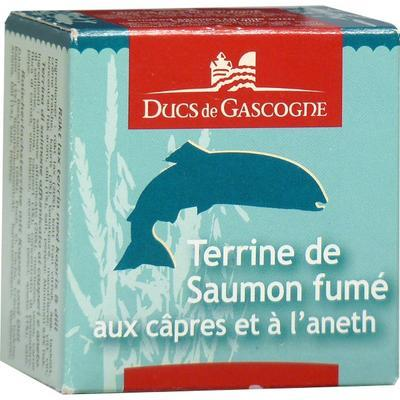 Smoked Salmon Terrine with Capers and Dill, 65 g