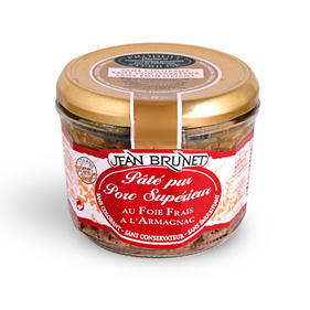 Pork Liver Pate with Armagnac, 180g