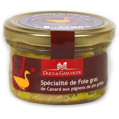 Duck Foie Gras with grilled pine nuts, 90 g