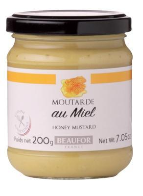 French Honey Mustard - Beaufor, 200g