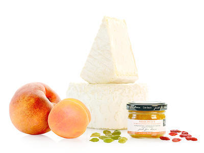 MINI Sweet Sauce of Peaches and Apricots with Goji Berries and Guatamalan Cardamom, 70g