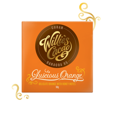 Willie's Cacao Čokoláda Luscious Cuban Orange hořká 65%, 50g - 1