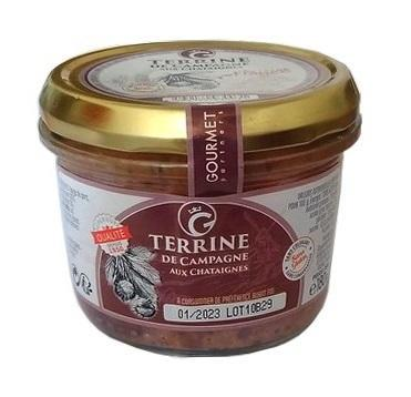 Rustic Terrine with Chestnuts, 180g