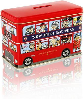 English tea in a London Bus Gift Box