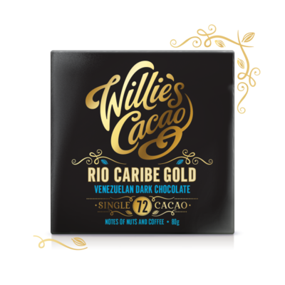 Willie's Cacao chocolate Venezuelan Gold, Rio Caribe, cacao 72%, 50g - 1