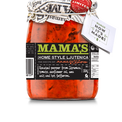 Lutenica Home Made Mamas, 550g