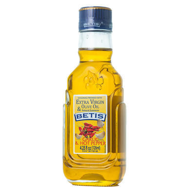 Garlic and chilli flavoured extra virgin olive oil, 0,125l