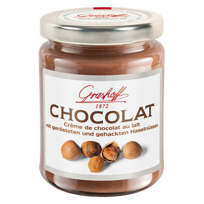 Milk Chocolate Cream with Hazelnuts, 250g
