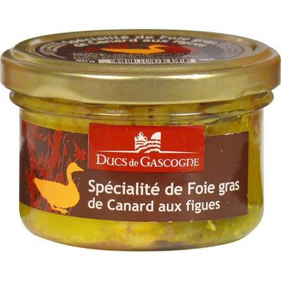 Whole Duck Foie Gras with figs, 90g