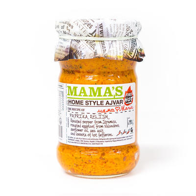 Mamas Ajvar Home Made Fire hot Mamas, 290g