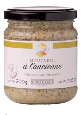"Whole Grain Reims Mustard ""L´Ancienne"" - Beaufor, 200g"