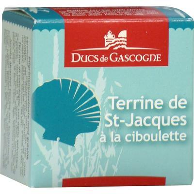 Terrine of Scallops with Onion, 65 g