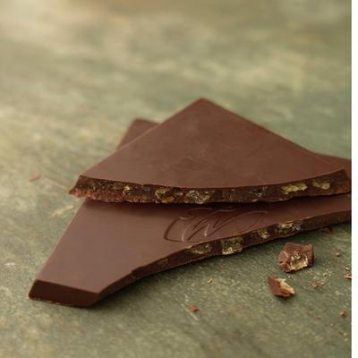 Willie's Cacao dark chocolate Sierra with ginger and lime, cacao 70%, 50g - 2