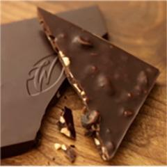 Willie's Cacao dark chocolate Peruvian with hazelnuts and raisins, cacao 70 %, 50g - 2