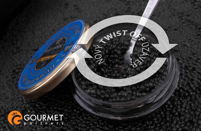 "Gourmet Partners Tzar Delicates ""Beluga Caviar Alternative"" blue - sklenice, 50g - 2"