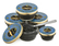 "Gourmet Partners Tzar Delicates ""Beluga Caviar Alternative"" blue - sklenice, 50g - 3/3"